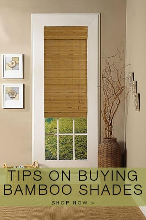 Tips on Buying Bamboo Shades