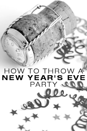 How to Throw a New Year's Eve Party