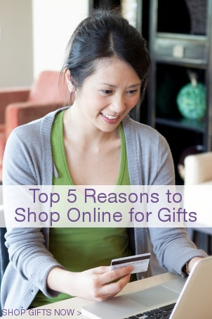 Top 5 Reasons to Shop Online for Gifts