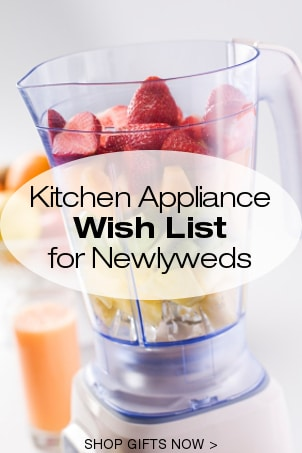 Kitchen Appliance Wish List for Newlyweds