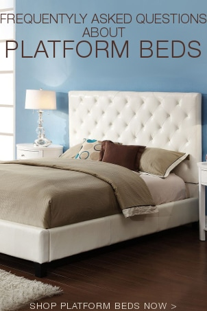 FAQs about Platform Beds