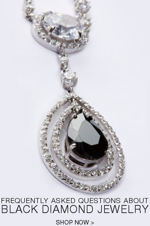 FAQs about Black Diamond Jewelry
