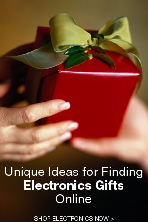 Unique Ideas for Finding Electronics Gifts Online