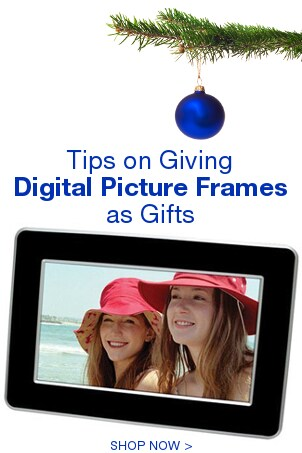 Tips on Giving Digital Picture Frames as Gifts