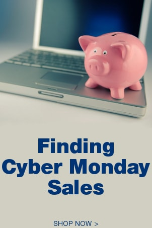 Finding Cyber Monday Sales