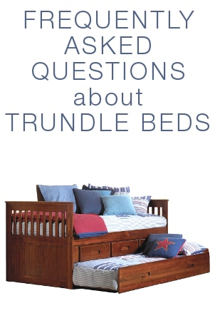 FAQs about Trundle Beds