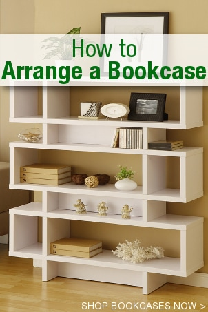 How to Arrange a Bookcase