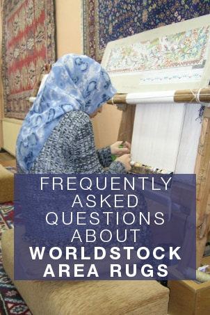 FAQs about Worldstock Area Rugs