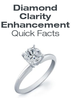 Diamond Clarity Enhancement Quick Facts
