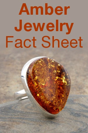 Amber Jewelry Fact Sheet