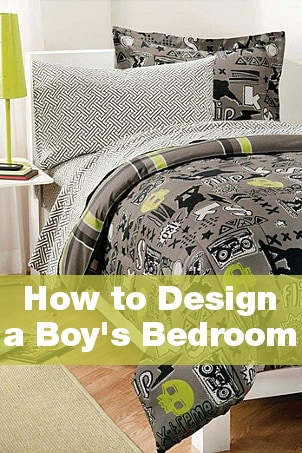 How to Design a Boy's Bedroom