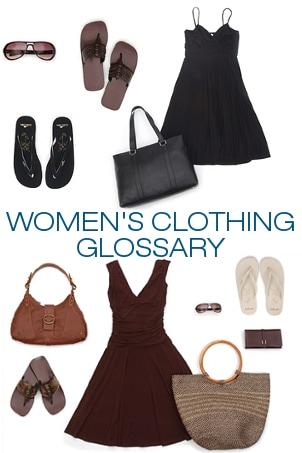 Women's Clothing Glossary