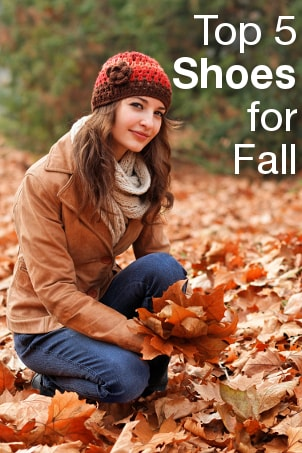 Top 5 Shoes for Fall