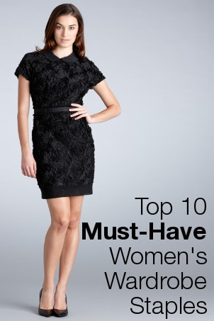 Top 10 Must-Have Women's Wardrobe Staples