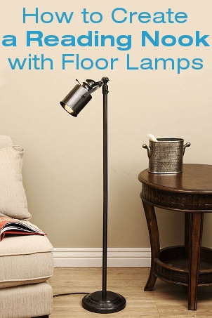 How to Create a Reading Nook with Floor Lamps