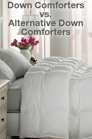 Down Comforters vs Alternative Down Comforters