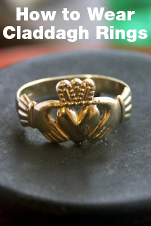 How to Wear Claddagh Rings