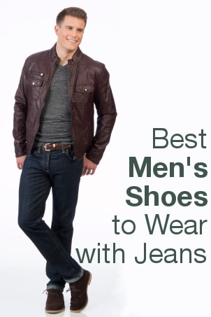 Best Men's Shoes to Wear with Jeans