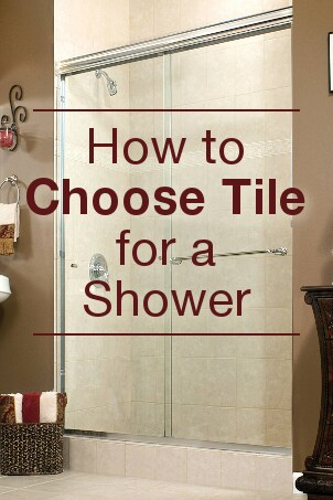 How to Choose Tile for a Shower