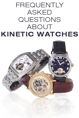FAQs about Kinetic Watches