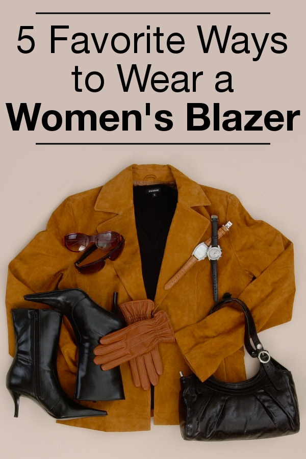 5 Favorite Ways to Wear a Women's Blazer