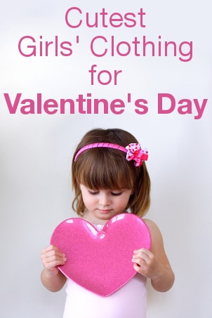 Cutest Girls' Clothing for Valentine's Day