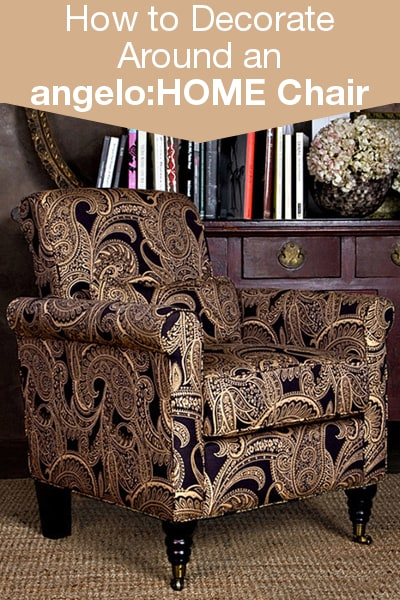 How to Decorate Around an AngeloHOME Chair